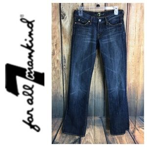 🐞7 for All Mankind Bootcut denim jean size 26